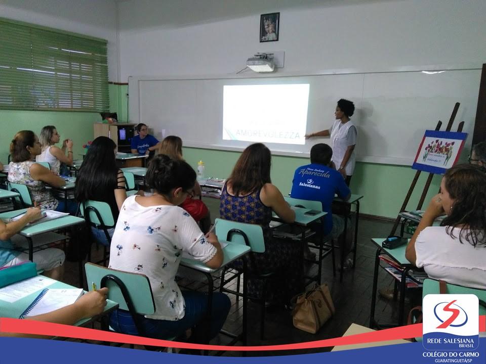 Formação com Educadores do Ensino Fundamental II e Ensino Médio