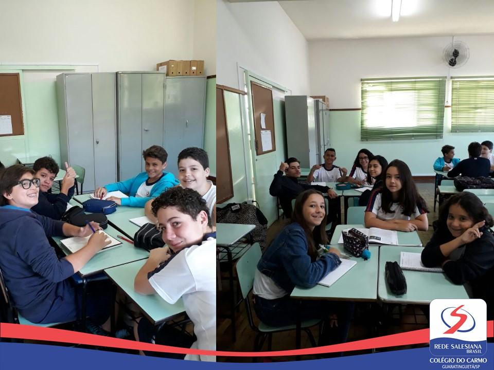 Estudantes do 8º Ano apresentam trabalho sobre