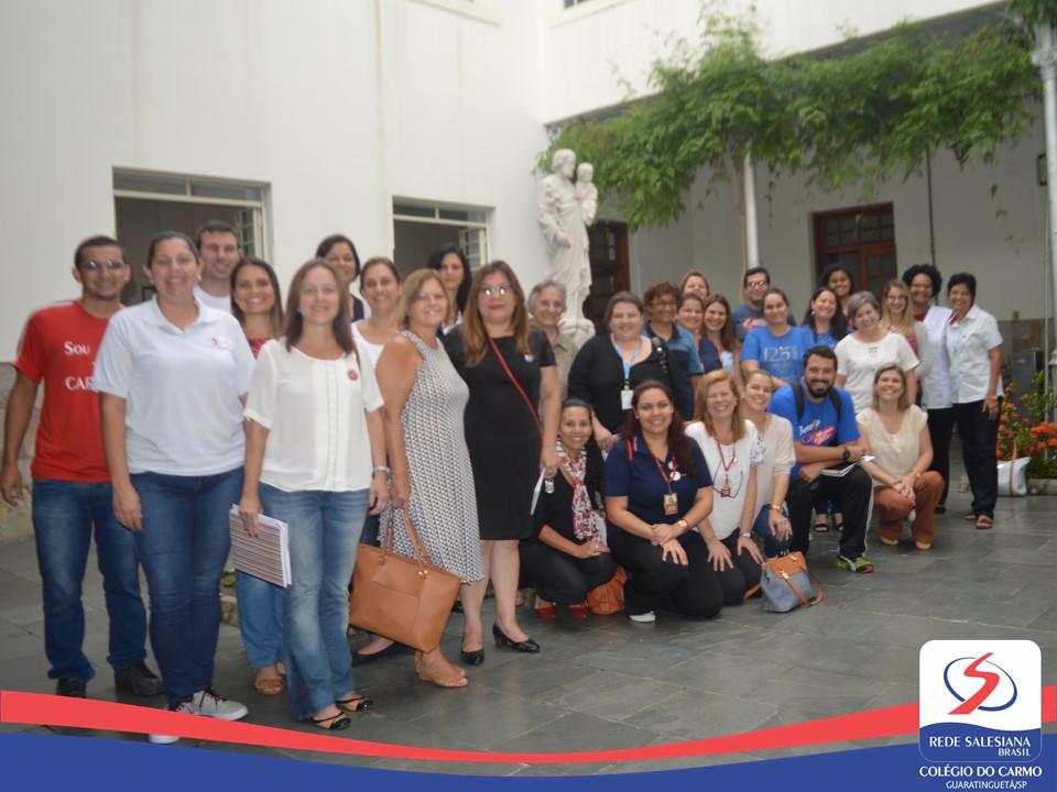 Diretores e Coordenadores das Escolas Salesianas do Vale do Paraíba se reúnem no Colégio do Carmo