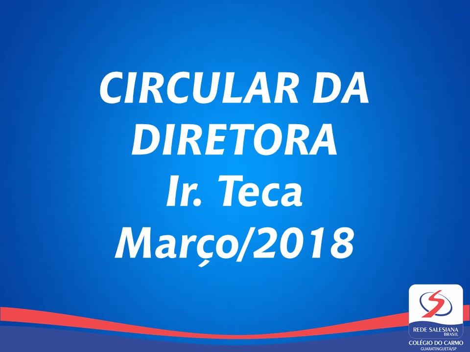Circular da Diretora Março/2018