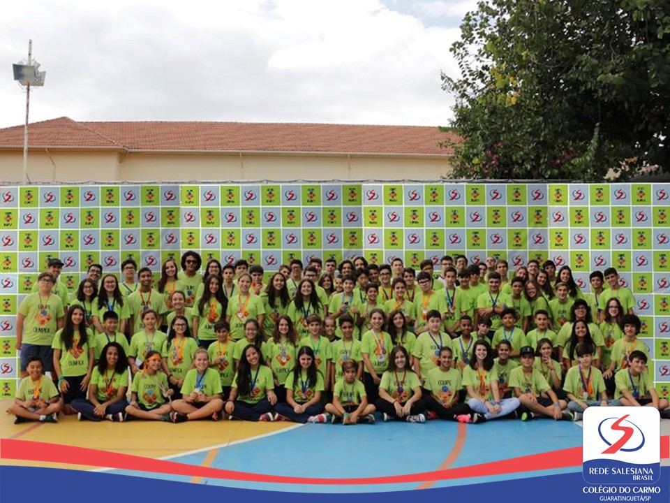 Festa reúne alunos medalhistas das Escolas Salesianas do Vale do Paraíba