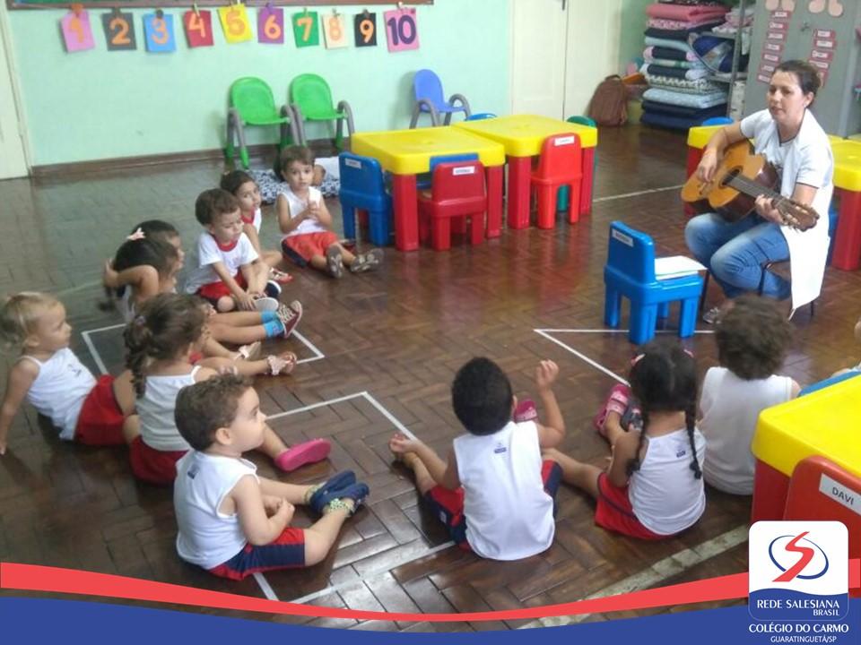 Infantil ID: Diversos momentos de aprendizagem e diversão