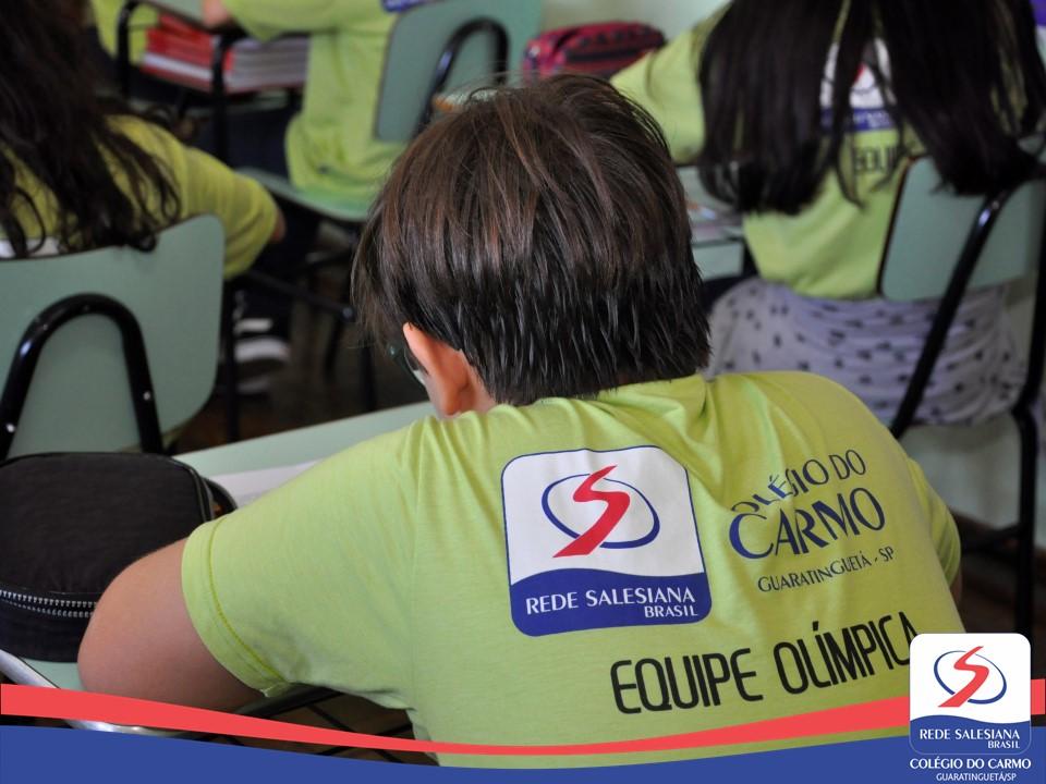 Equipe Olímpica realiza prova do Canguru de Matemática