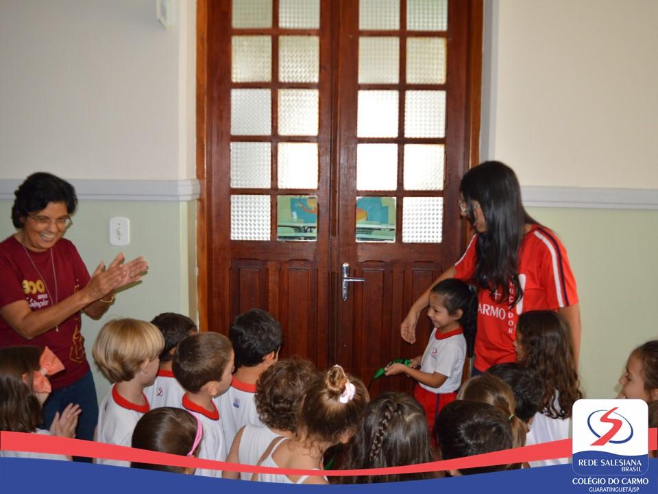 Inauguração da sala do Bilíngue