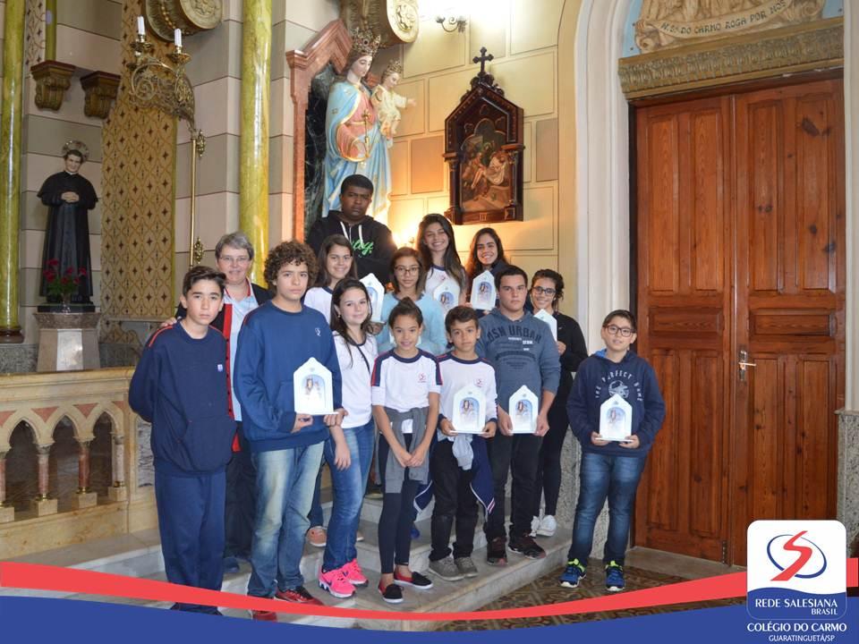 Visita das Capelinhas de Nossa Senhora Auxiliadora