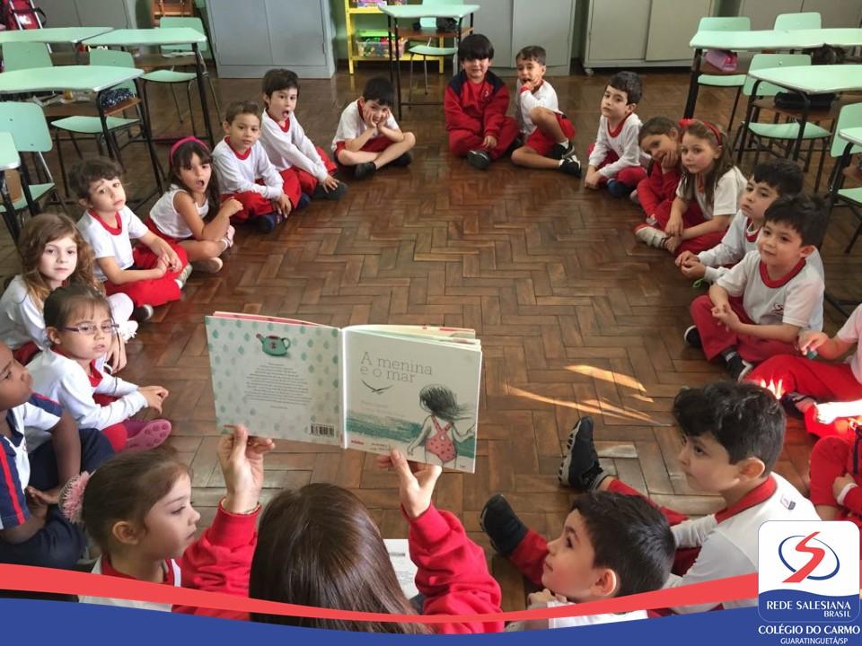 Infantil III: Motivação do Projeto de Leitura