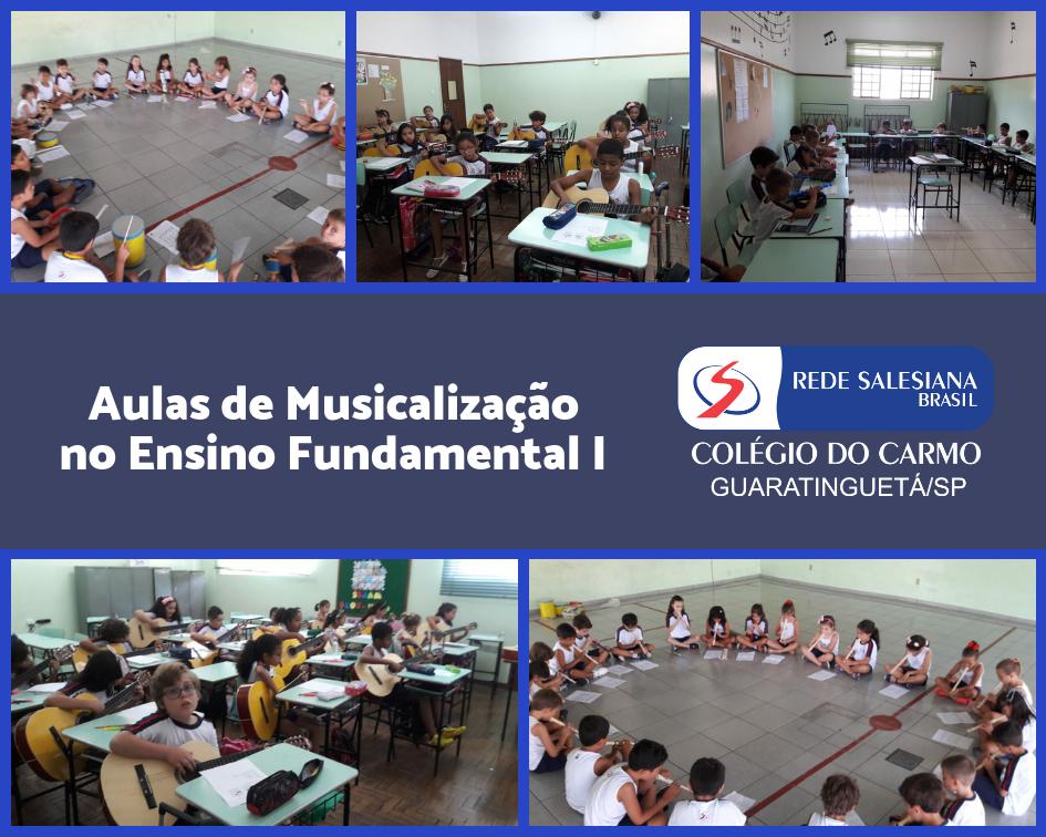 Musicalização no Ensino Fundamental I