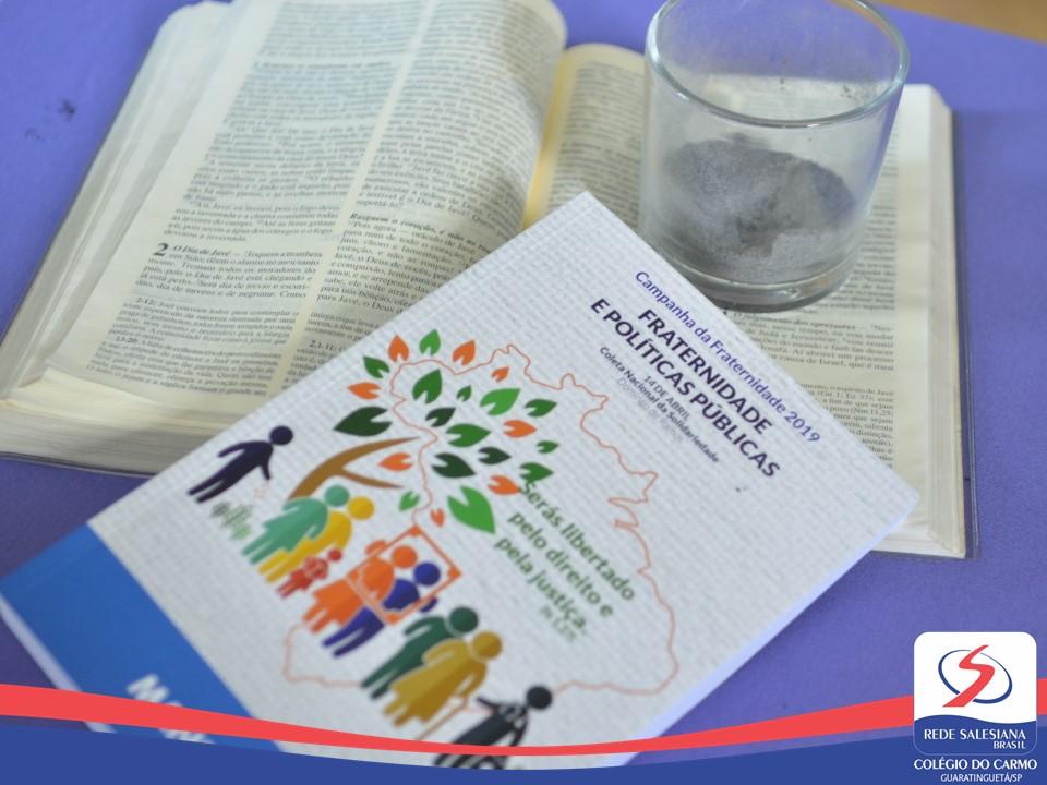 Celebração de Cinzas e Abertura da Campanha da Fraternidade marcam início da Quaresma