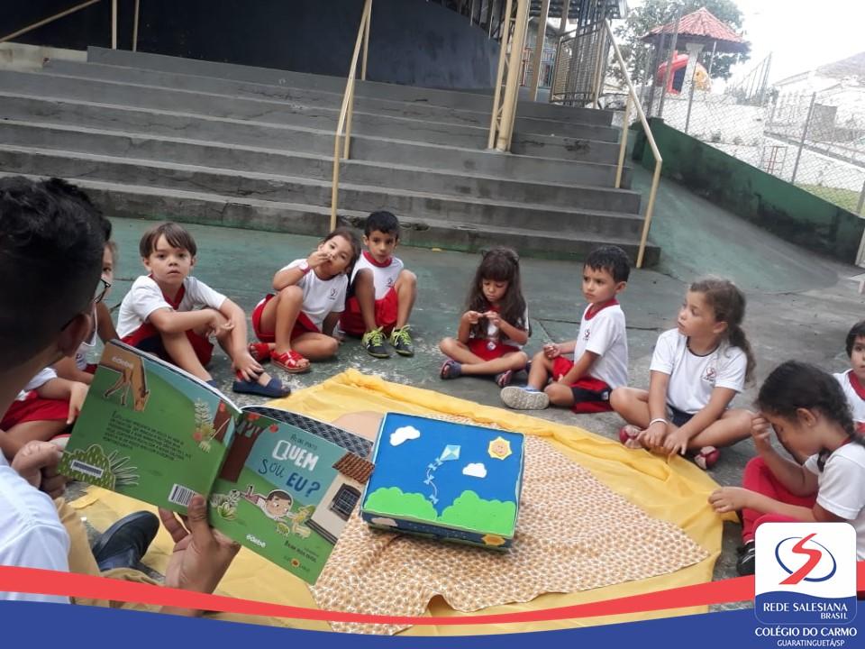 Infantil III inicia o Projeto de Leitura
