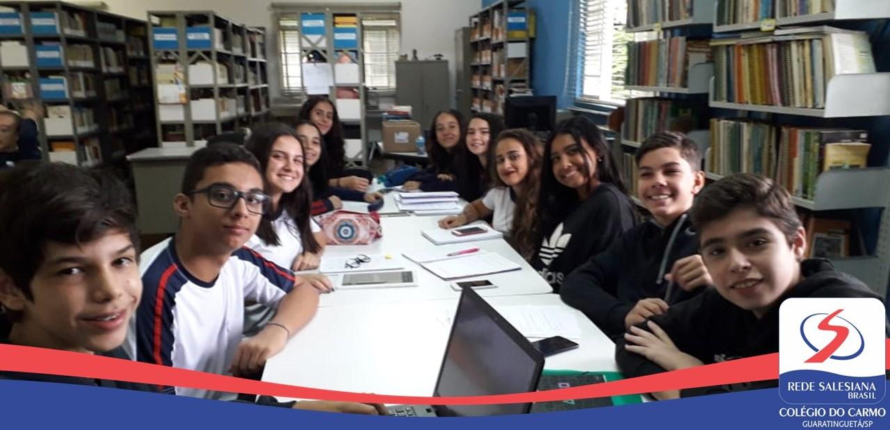 Estudantes do 8º Ano realizam Projeto
