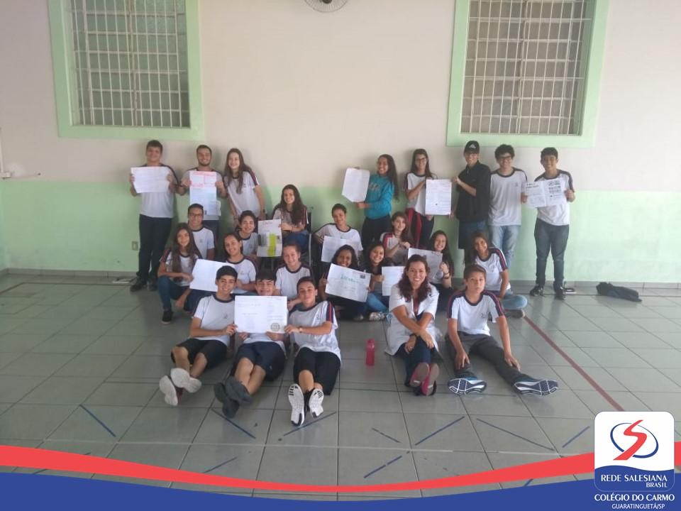 Estudantes do Ensino Médio realizam atividade literária