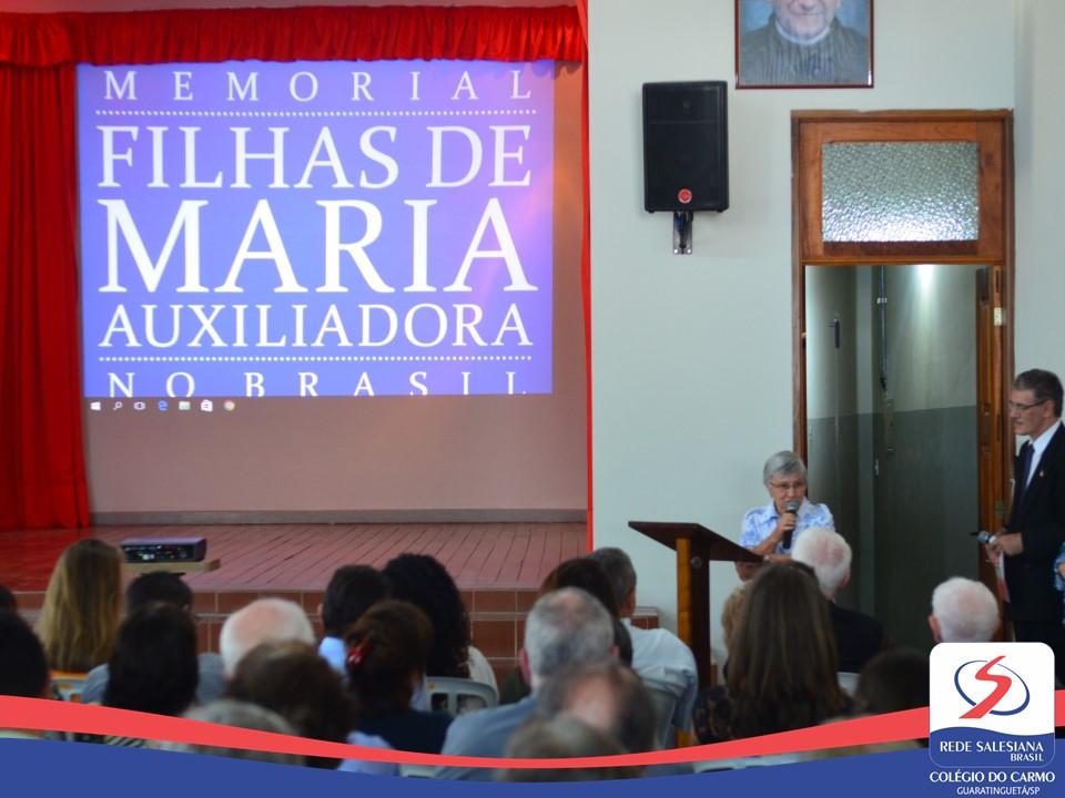 Memorial Filhas de Maria Auxiliadora no Brasil é inaugurado em Guaratinguetá