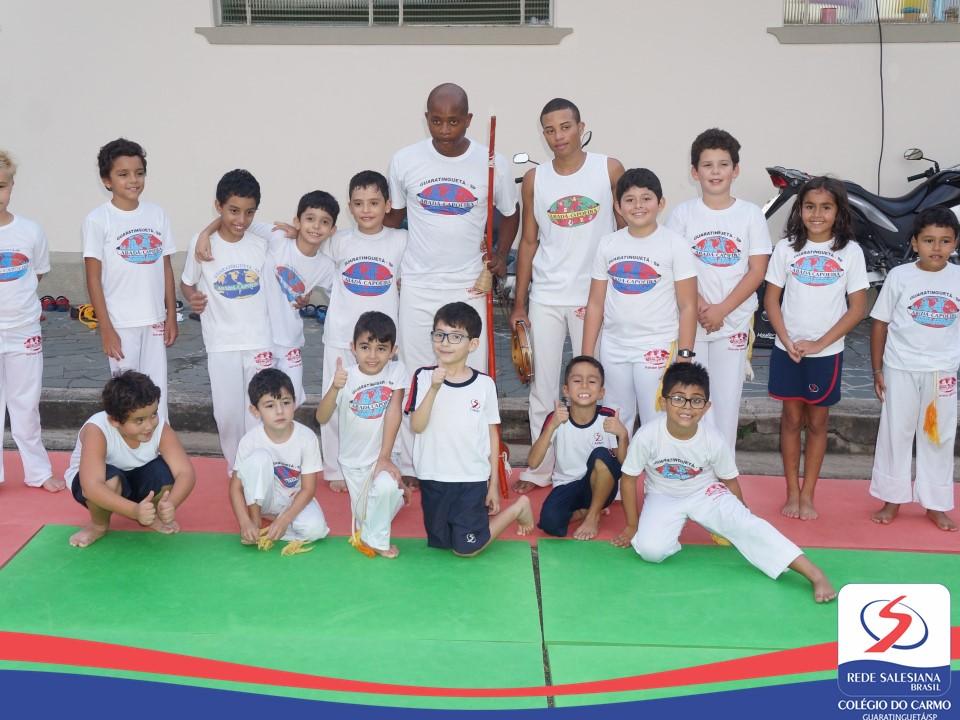 Escolinha na vitrine | Capoeira II - Período Complementar