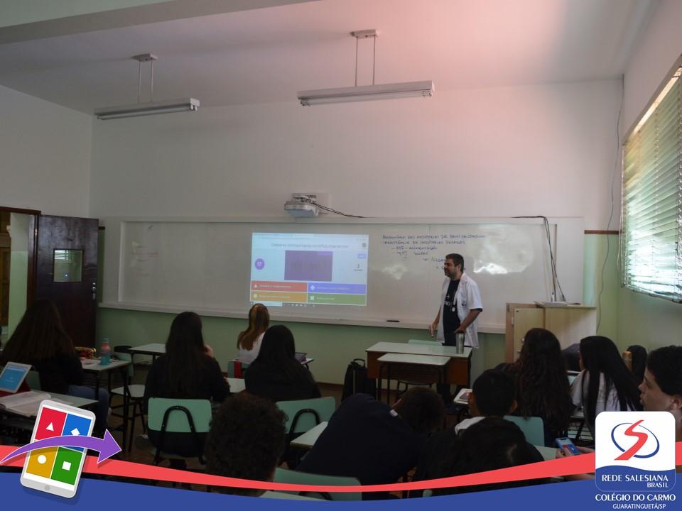 Utilização do Kahoot nas aulas de Ciências