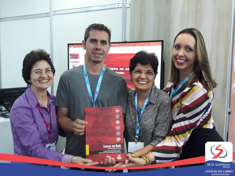 Professor do Colégio do Carmo apresenta trabalho na Bett Brasil Educar