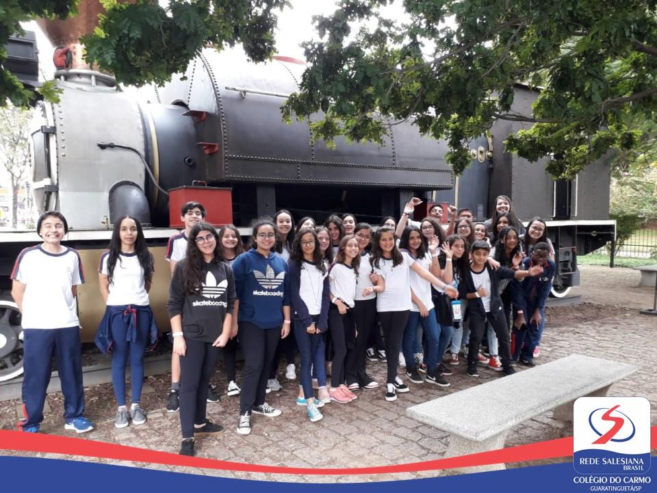 Alunos do Ensino Fundamental II realizam passeio pedagógico-cultural em São Paulo