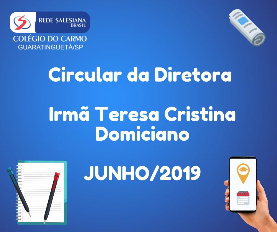 Circular da Diretora - Nº 05/2019