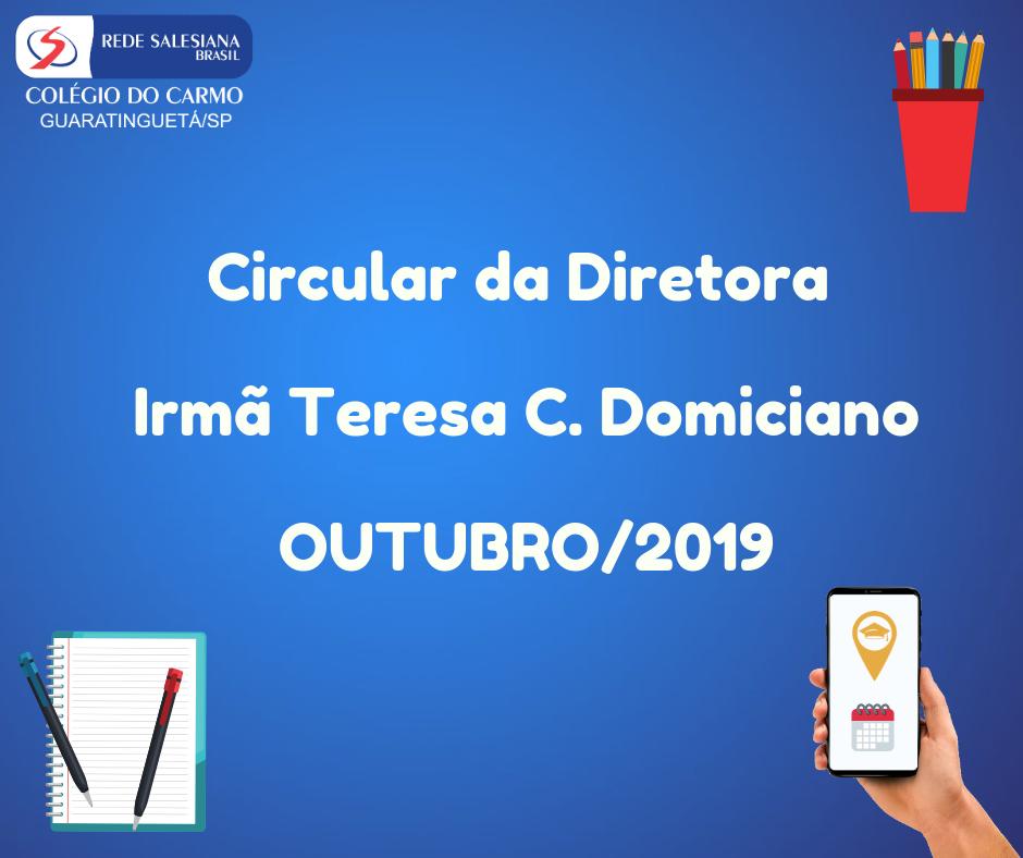 Circular da Diretora N 08/2019