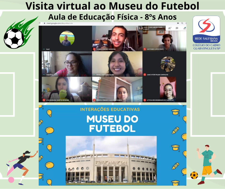 Alunos do 8º Ano realizam visita virtual ao